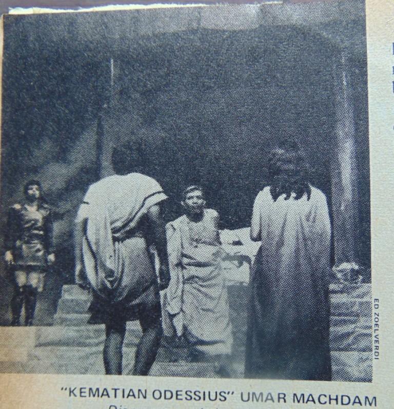 (Suara Karya, 1971) Beberapa Catatan Kecil Tentang Sejarah Teater KotaBogor